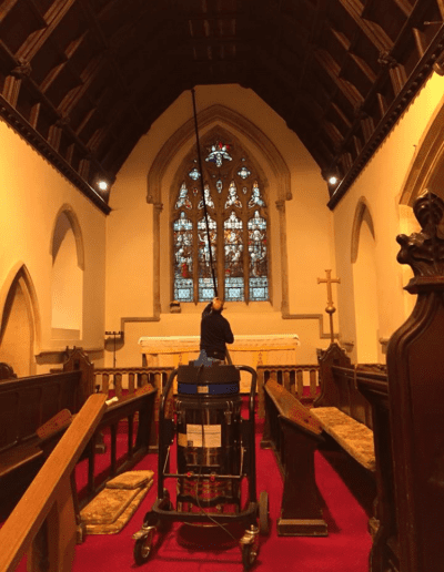 church cleaning gloucestershire